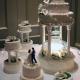 کیک عروسی آقای تشریفات